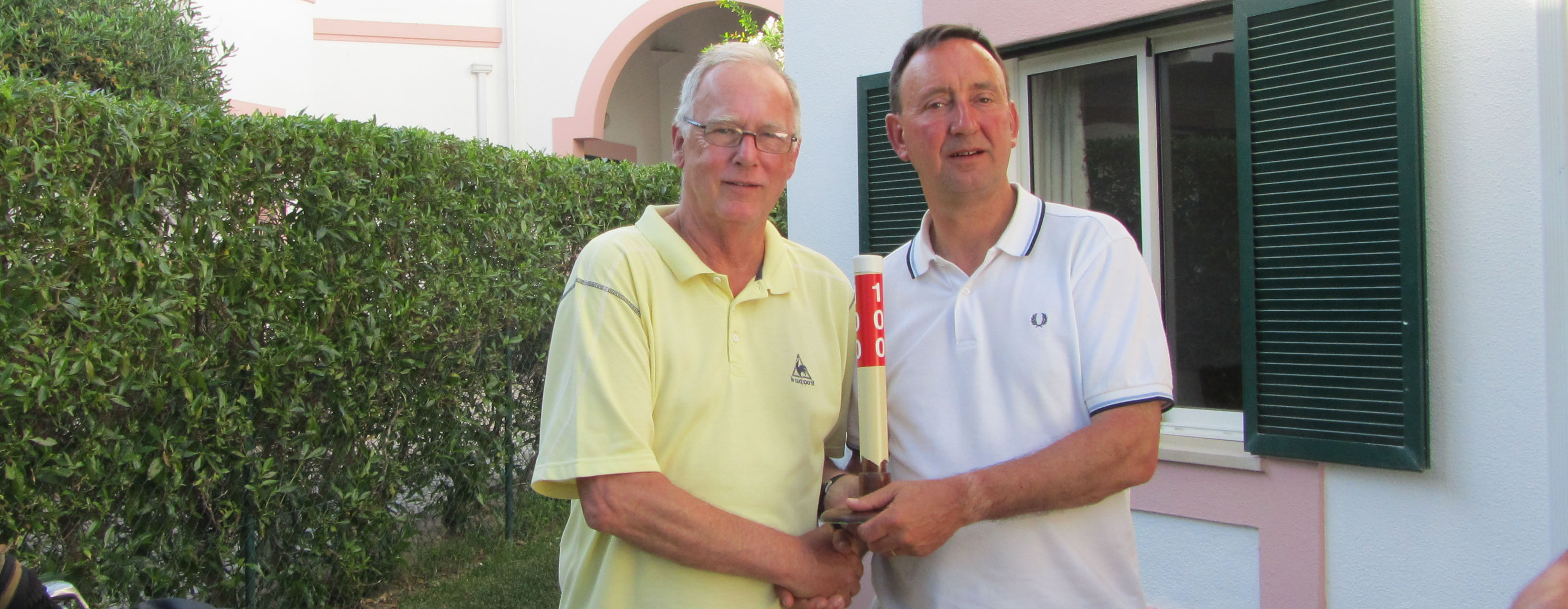 The 2020 Peter Crowhurst Celebration Trophy – Starting Sheet – Rugby Golf Club – Friday 31st July