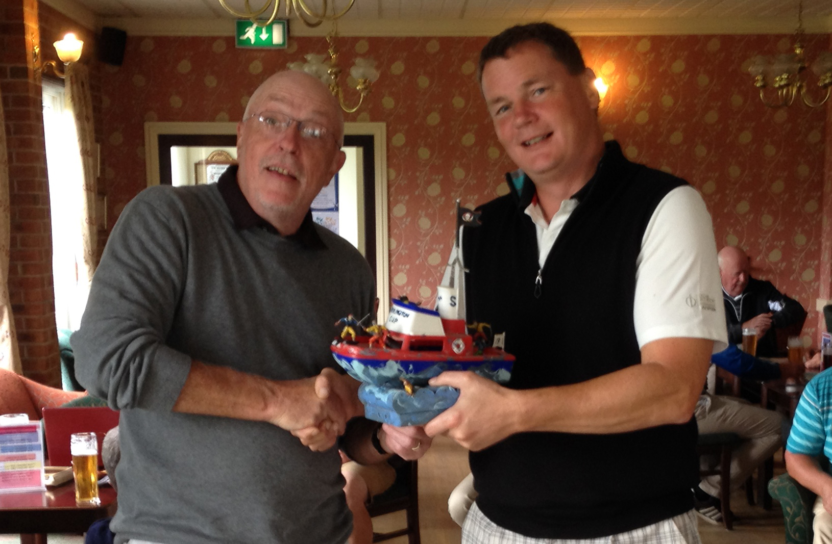 2016 Bridlington Admiral's Cup – Dearsley Floats the Boat !