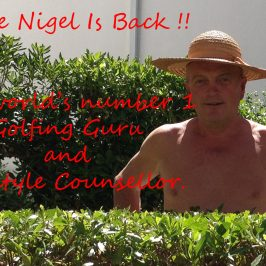 Dear Uncle Nigel, At last you are back !
