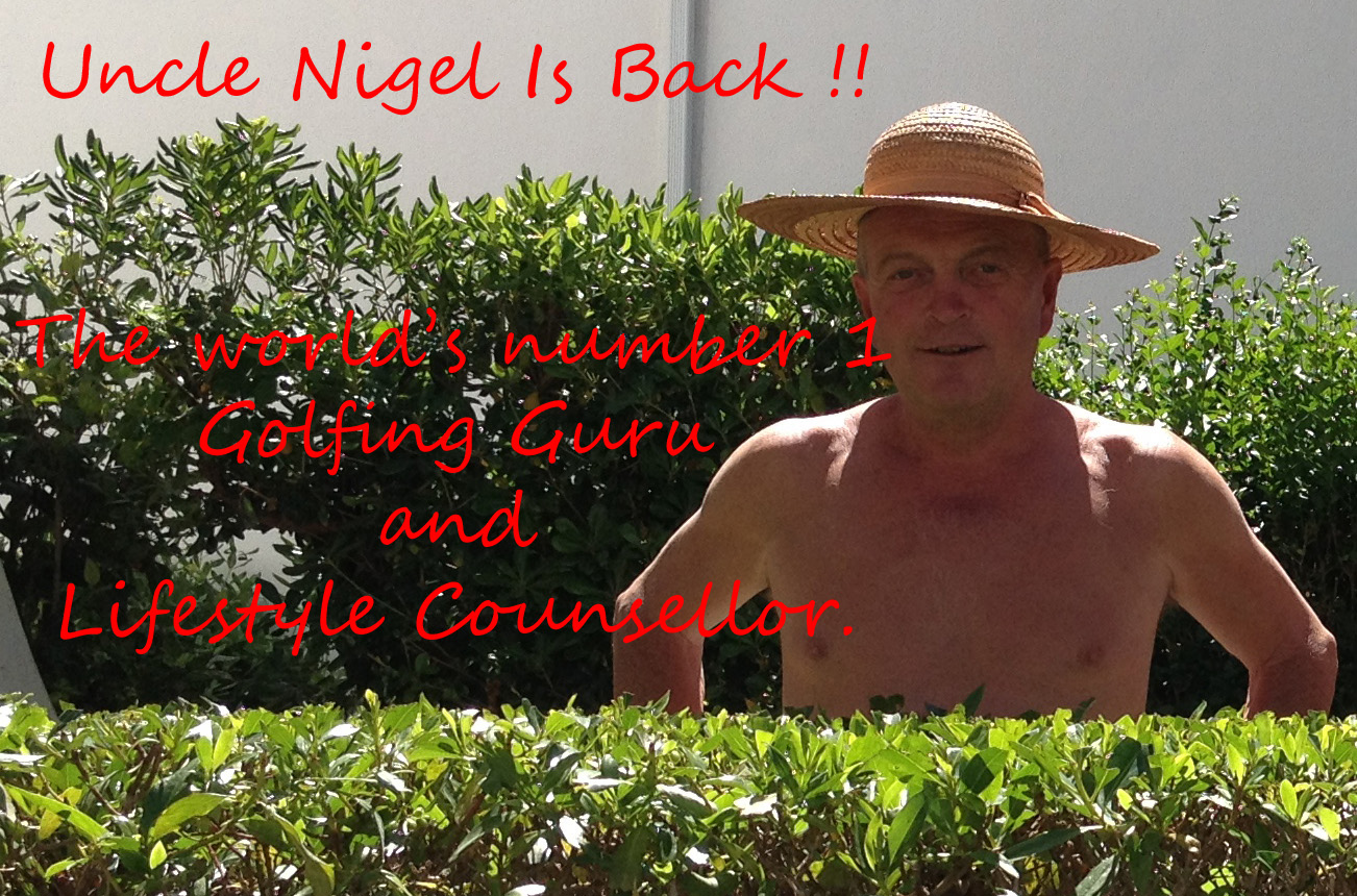 He Is Back By Popular Demand !! It's Ask Uncle Nigel !