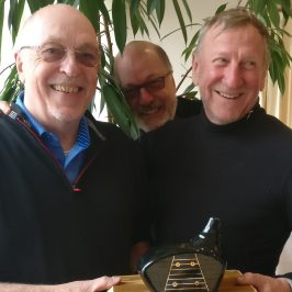 Waterhouse Grabs The 2018 Peter Crowhurst Celebration Trophy.