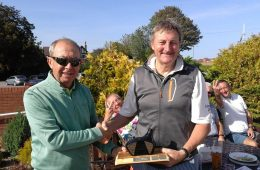 Kingey Wins The Peter Crowhurst Celebration Trophy – Bridlington 2019 !