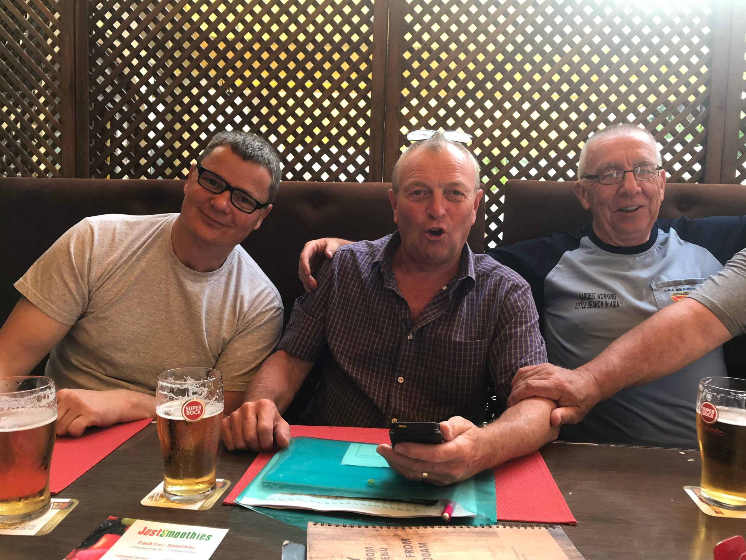 DAY 1 Kibworth – The *Asterisks* Portugal Tour 2020 – Lord Chilly's Nose In Front !