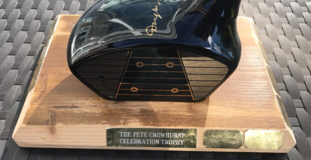 The Peter Crowhurst Celebration Trophy.