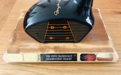 ! Breaking News ! – Crowhurst Trophy Is Full Up !